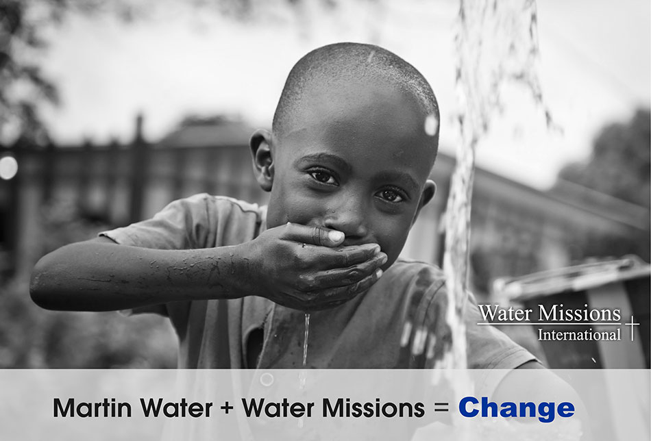 Martin Water and Water For People Helps Others